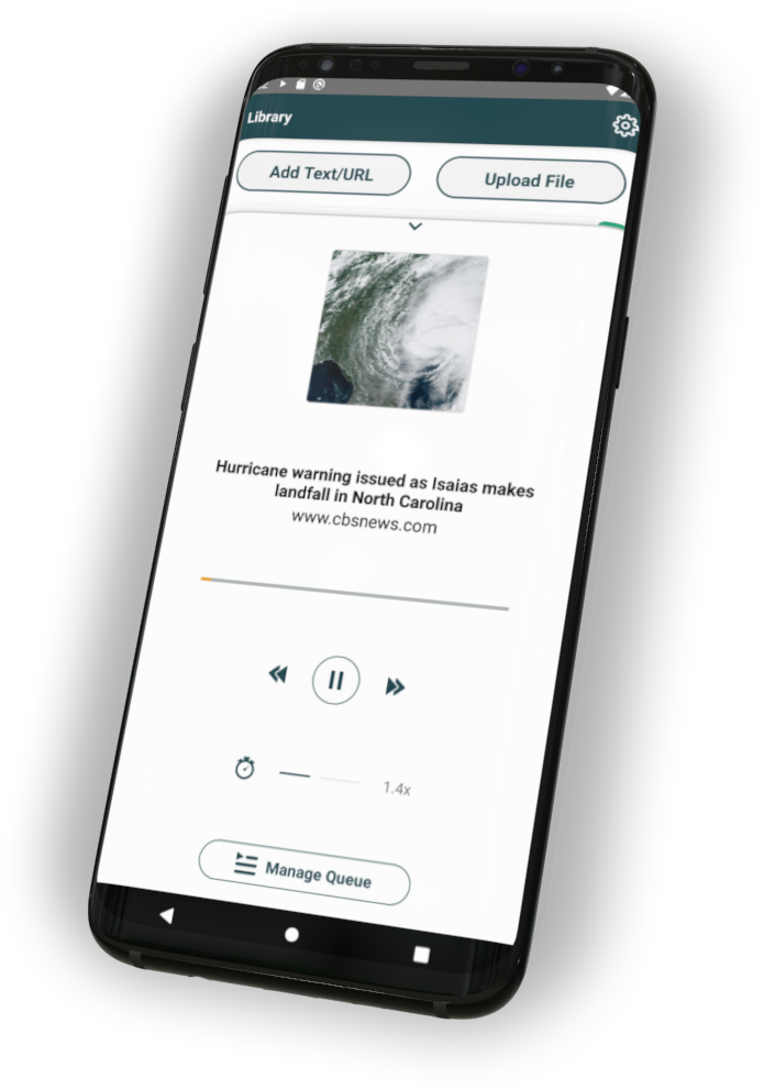 Audio Player on Android